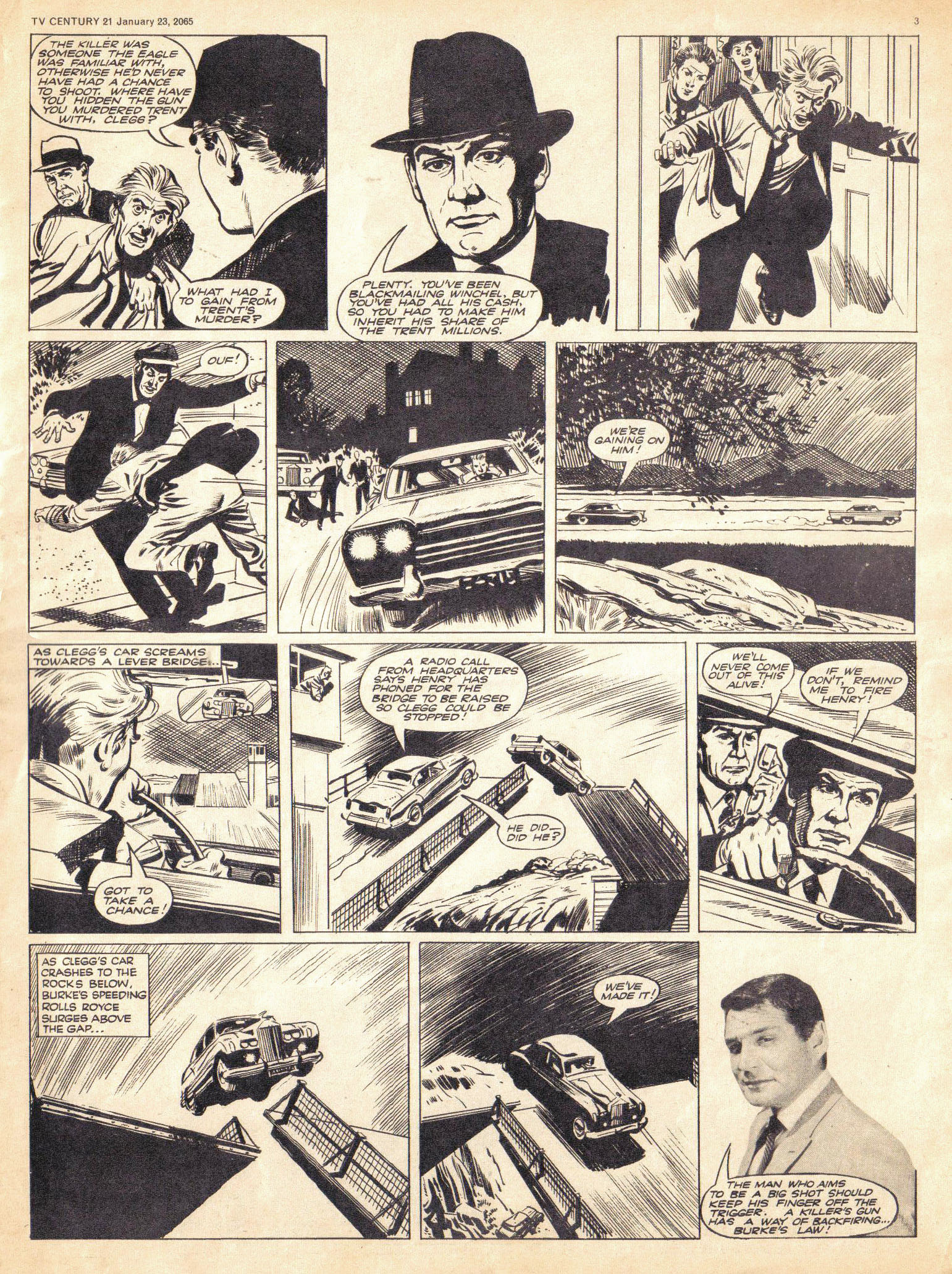 Read online TV Century 21 (TV 21) comic -  Issue #1 - 3