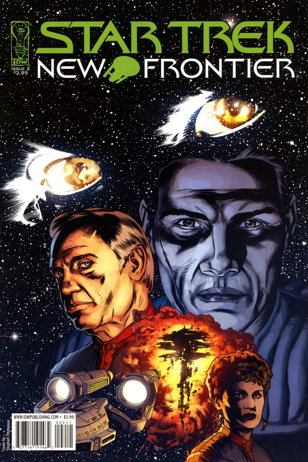 Comic Star Trek: New Frontier issue 2