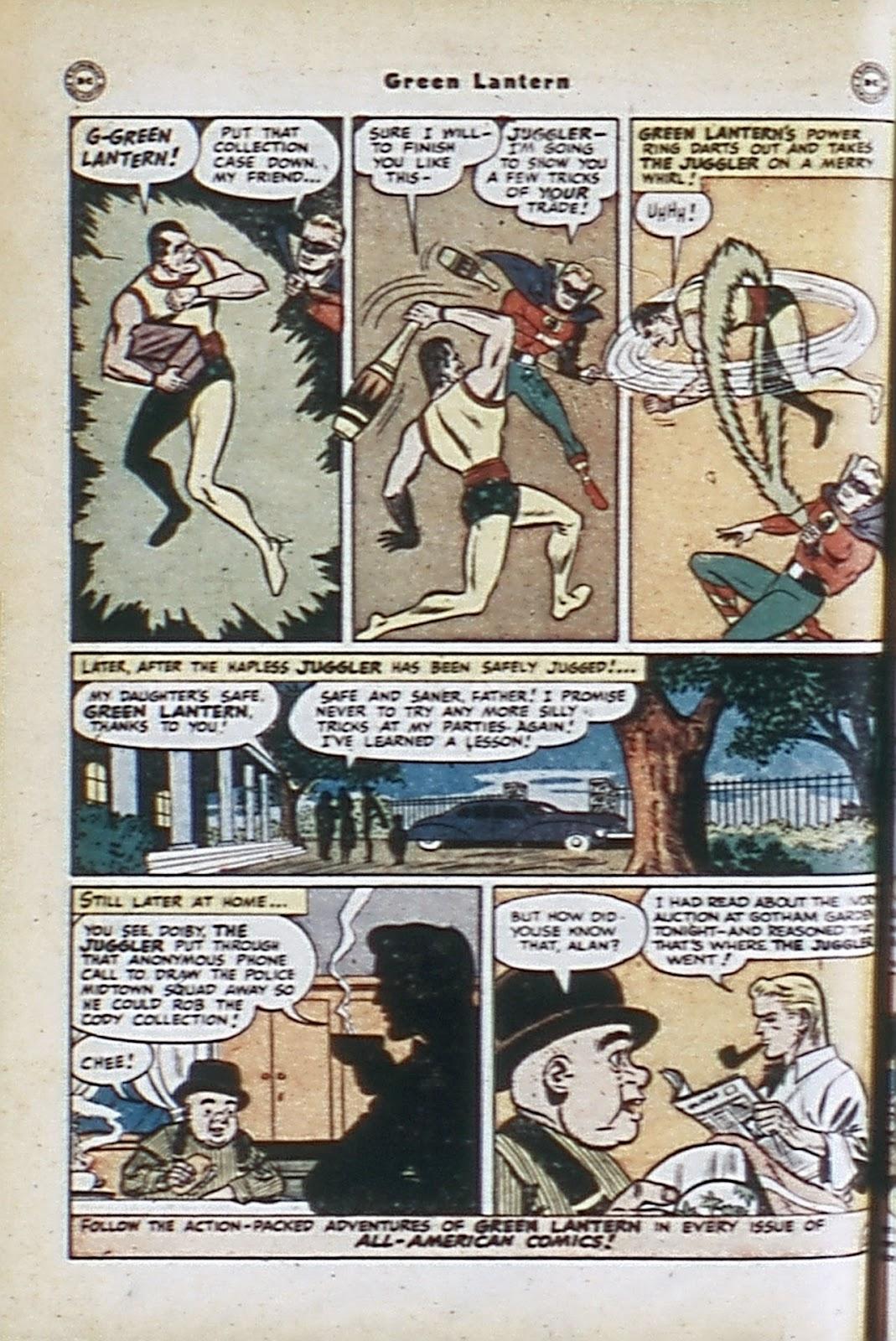 Green Lantern (1941) Issue #32 #32 - English 14