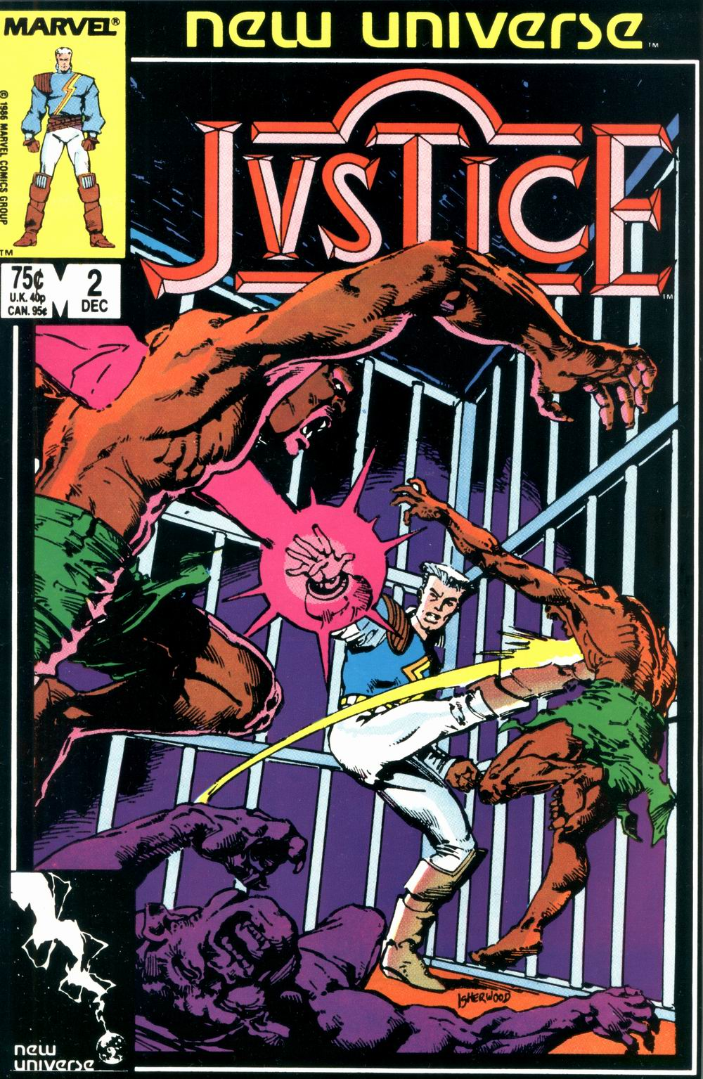 Read online Justice (1986) comic -  Issue #2 - 1