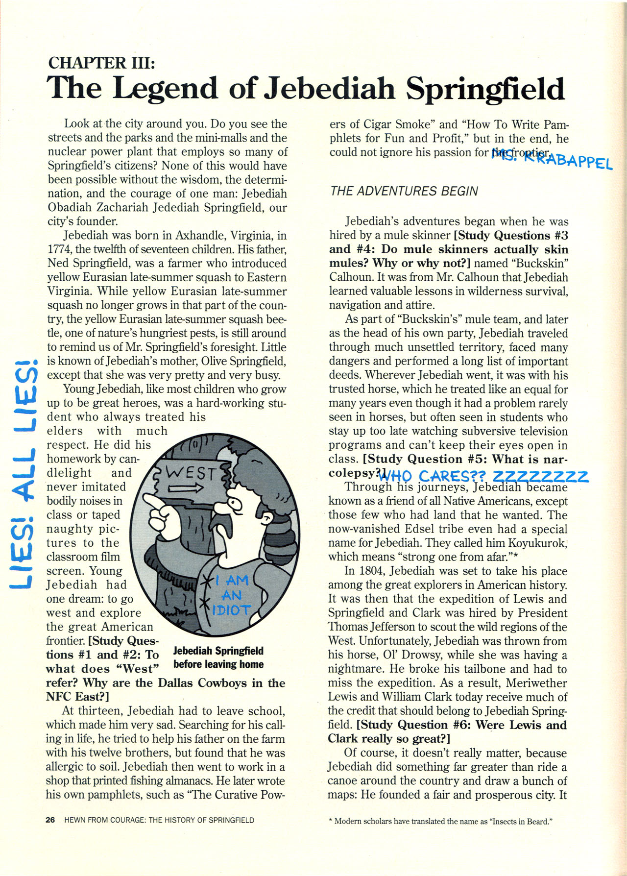 Read online Simpsons Illustrated (1991) comic -  Issue #2 - 27