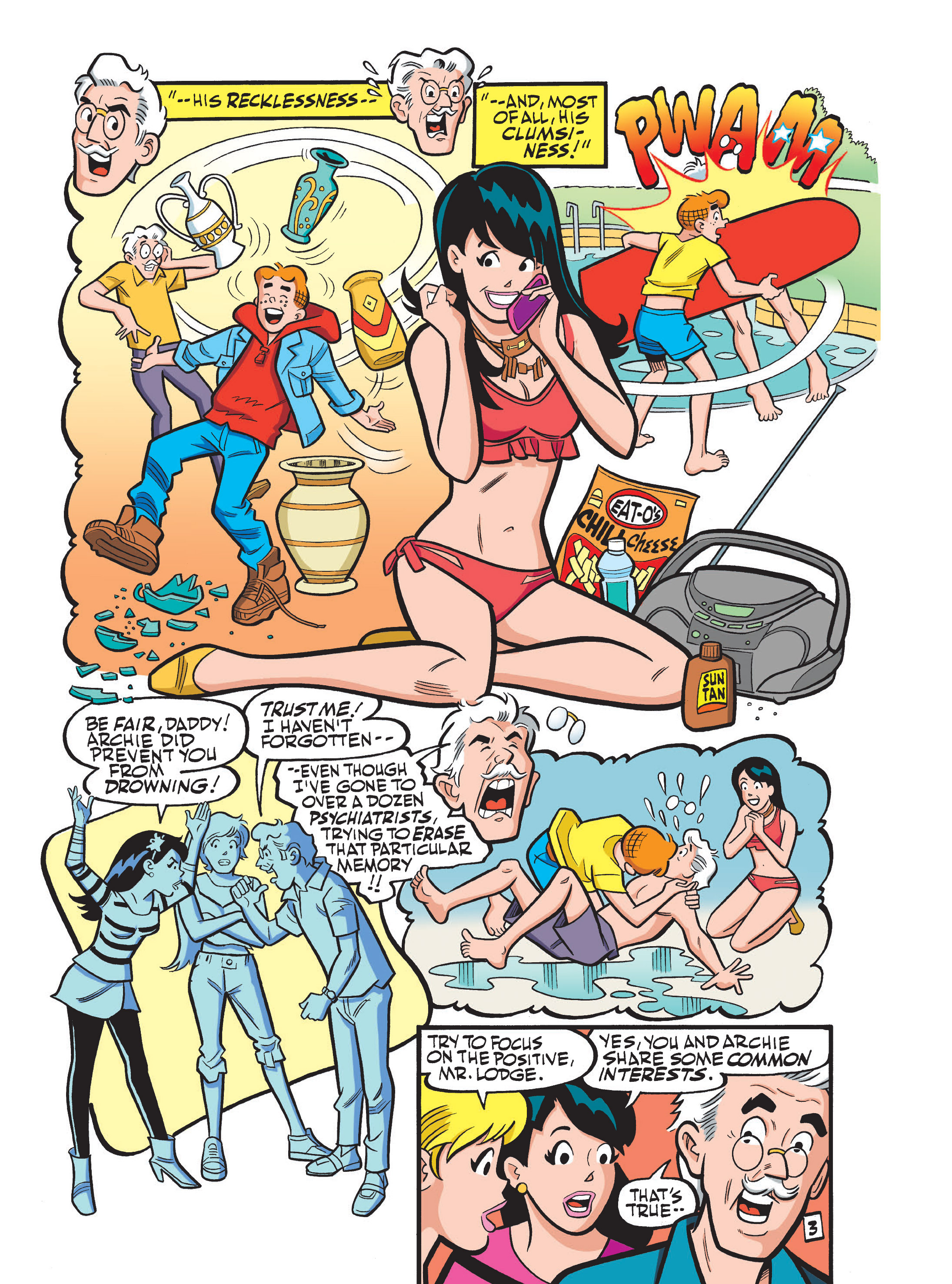Read online Archie 75th Anniversary Digest comic -  Issue #1 - 201