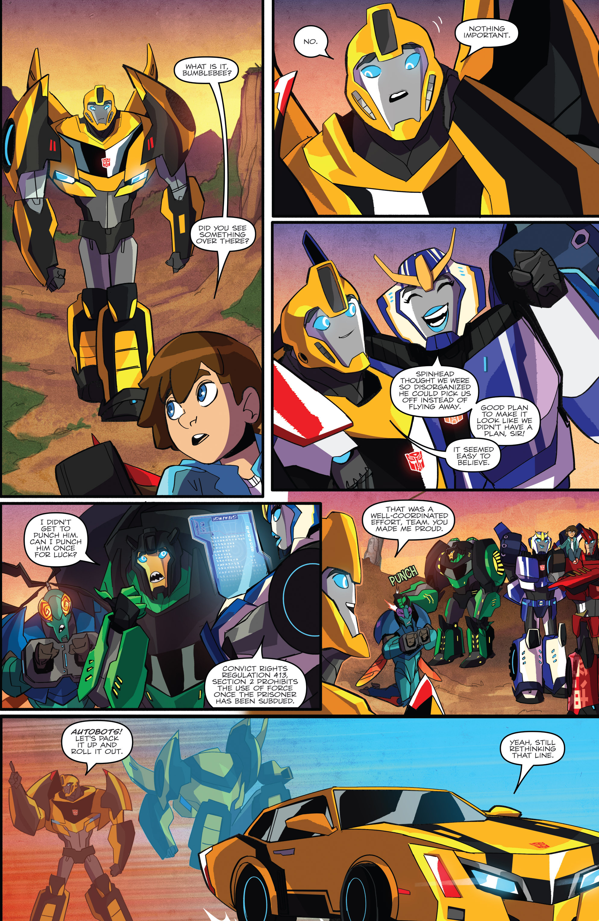 Read online Transformers: Robots In Disguise (2015) comic -  Issue #1 - 21
