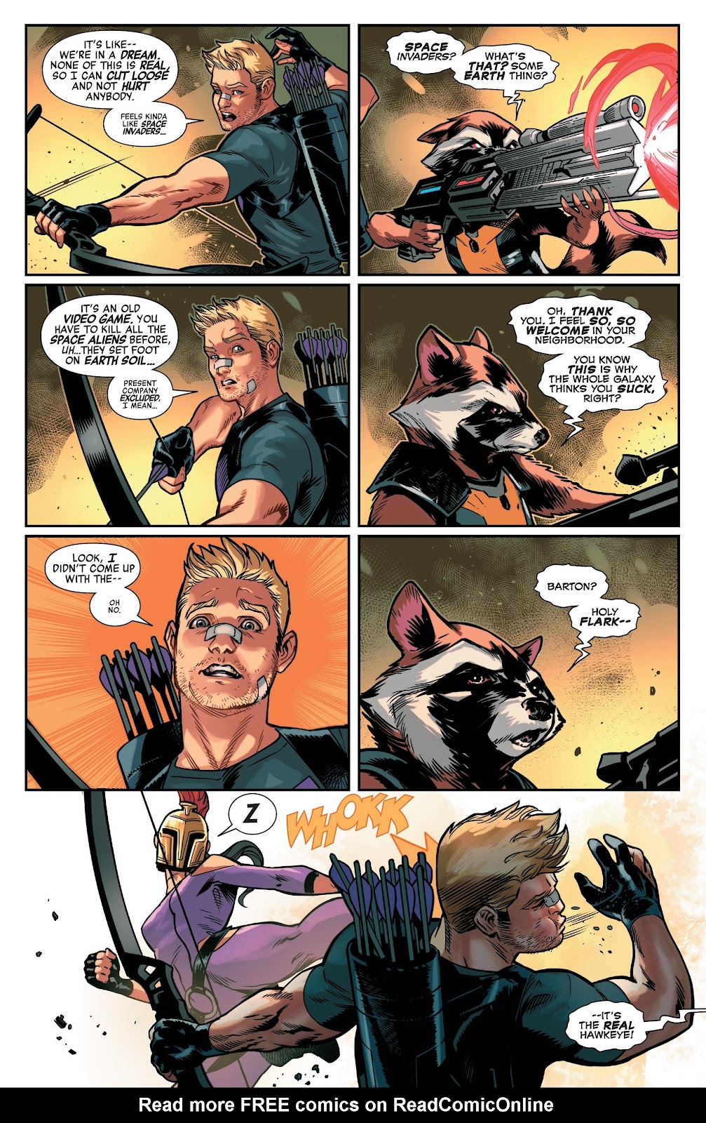Read online Avengers No Road Home comic -  Issue #5 - 8