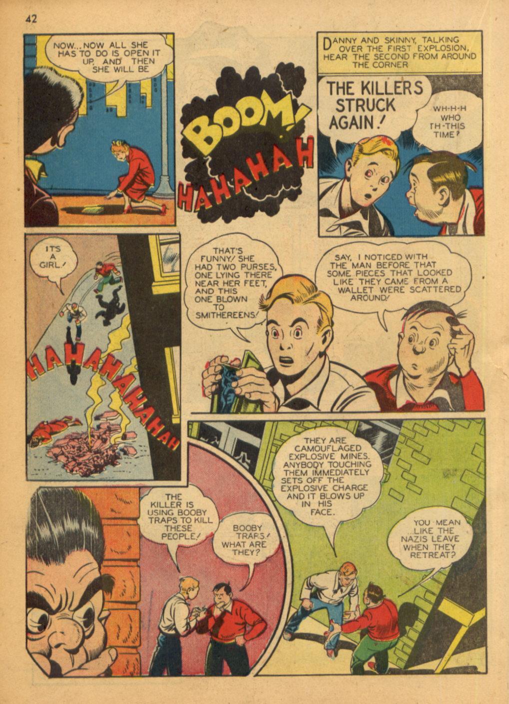 Read online Shadow Comics comic -  Issue #32 - 43