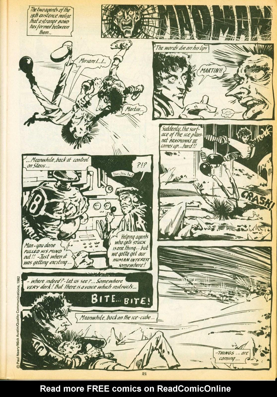 Warrior Issue #7 #8 - English 21