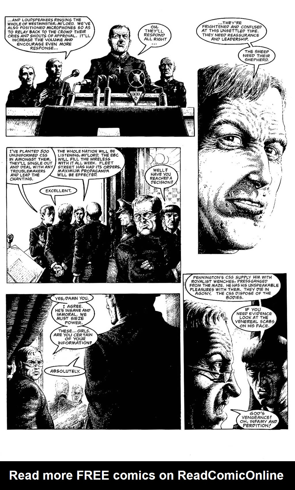 Read online The Adventures of Luther Arkwright comic -  Issue #5 - 16