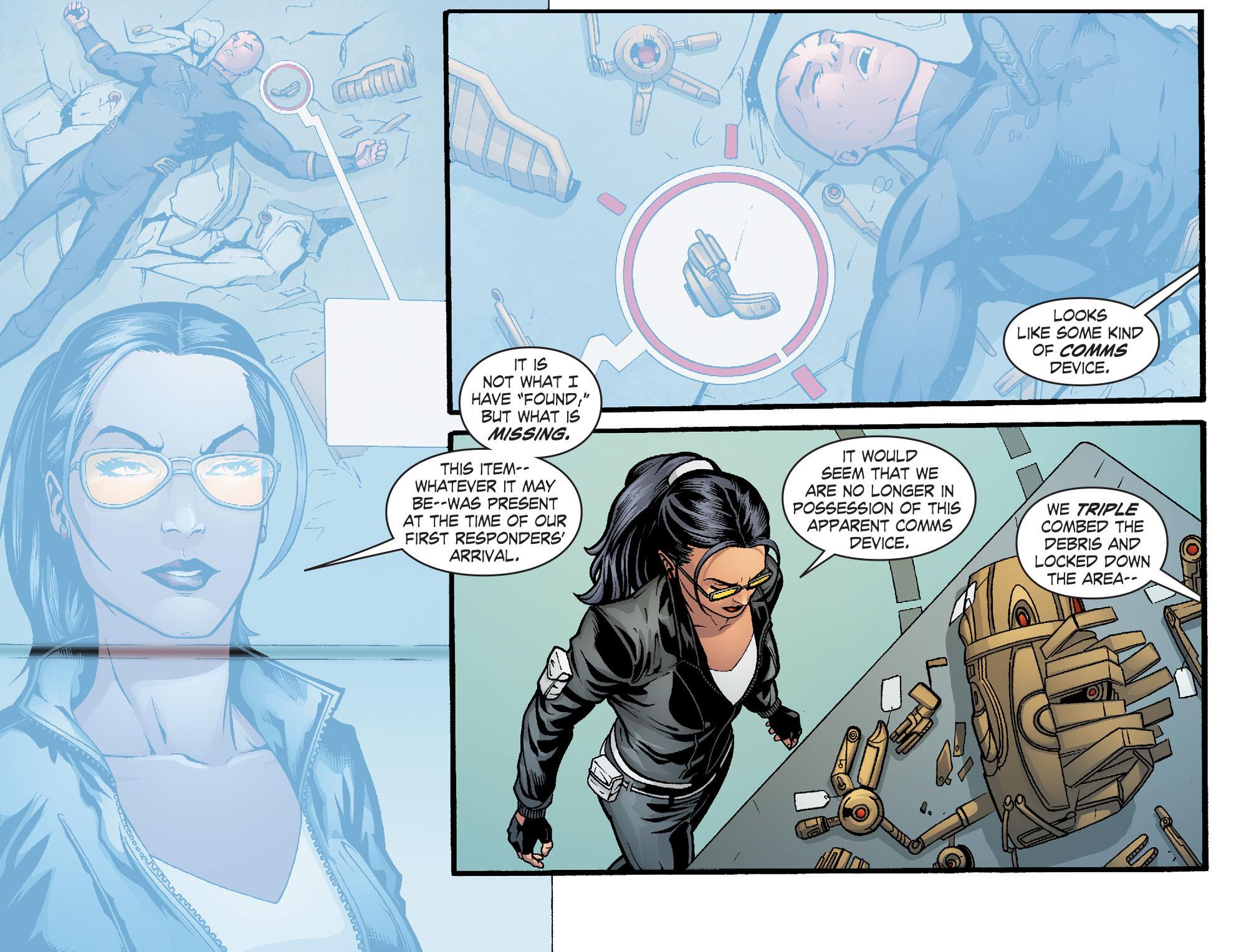 Read online Smallville: Alien comic -  Issue #12 - 20