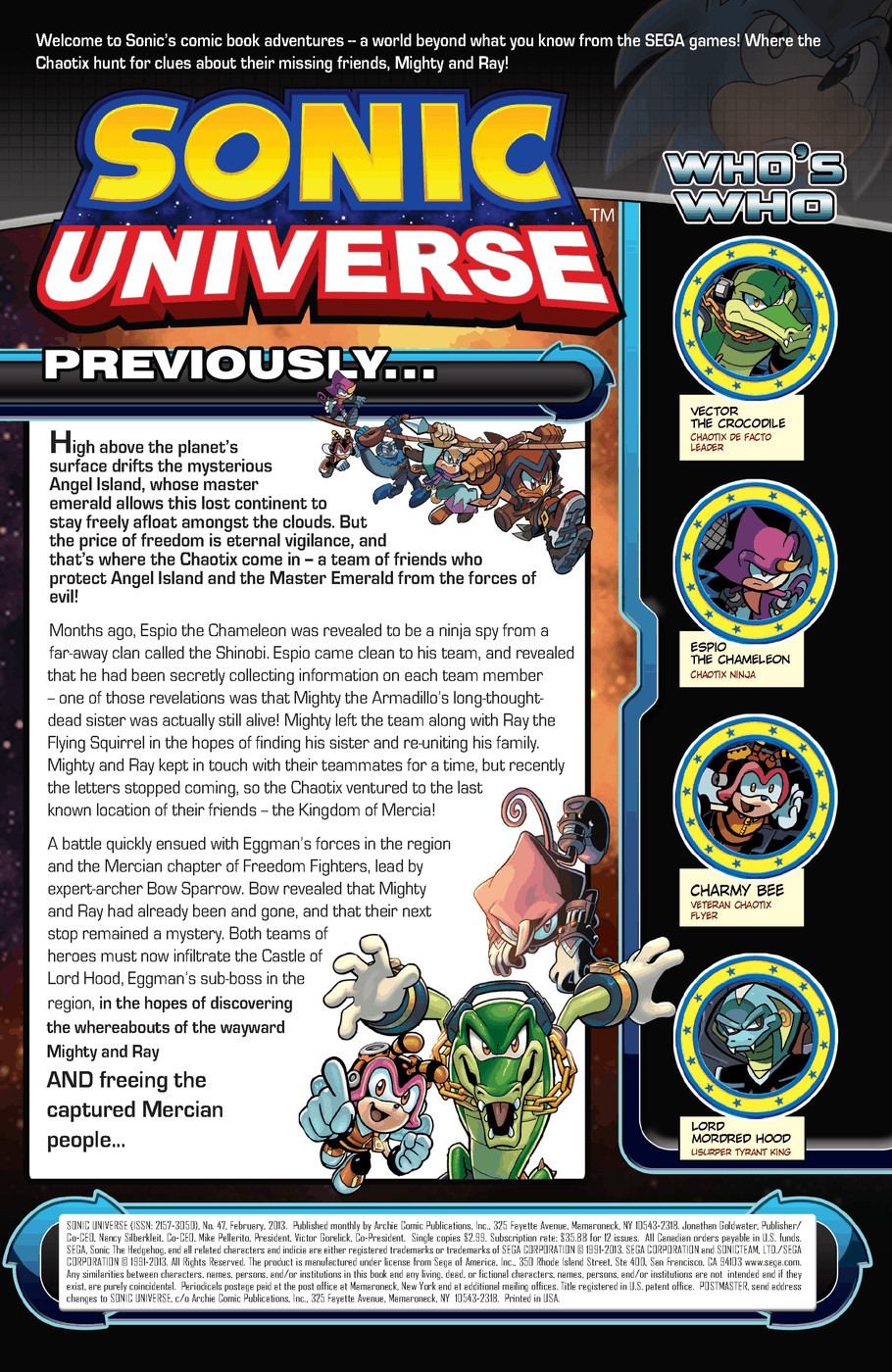 Read online Sonic Universe comic -  Issue #47 - 2