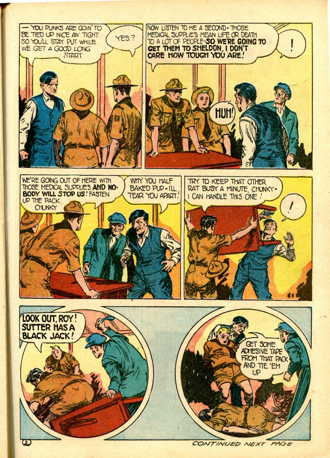Read online Famous Funnies comic -  Issue #111 - 43