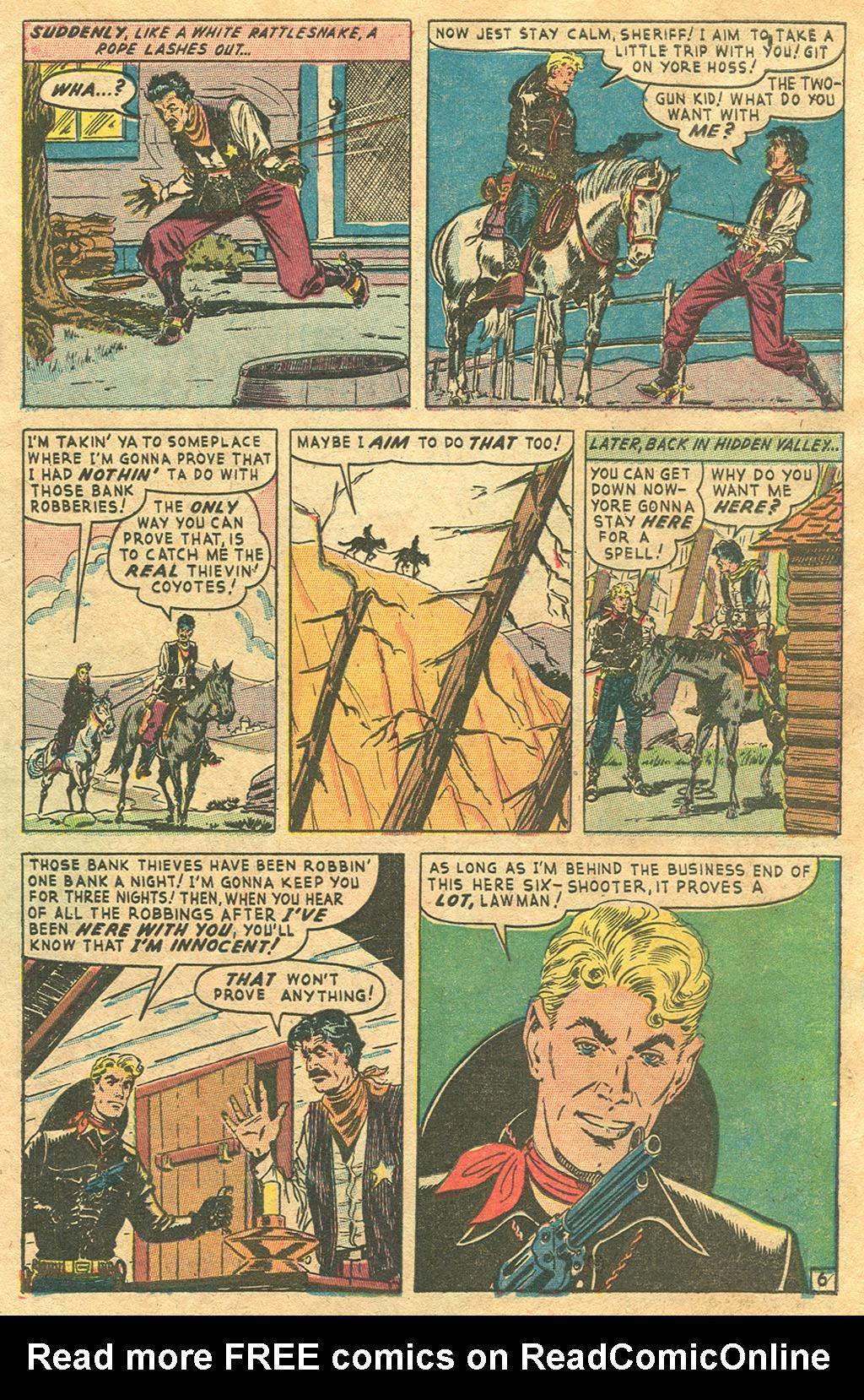 Read online Two-Gun Kid comic -  Issue #1 - 27