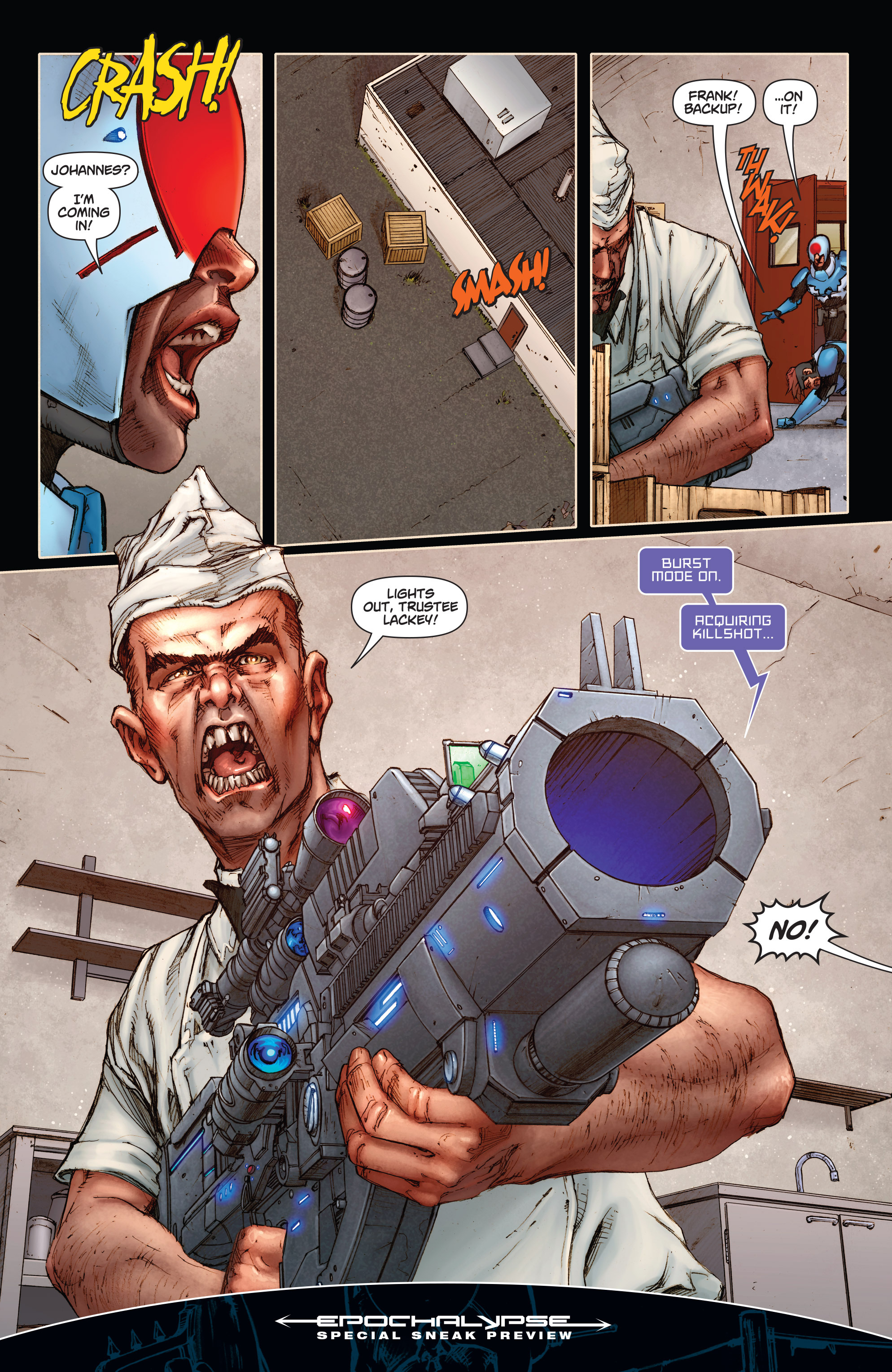 Read online Annihilator comic -  Issue #1 - 38