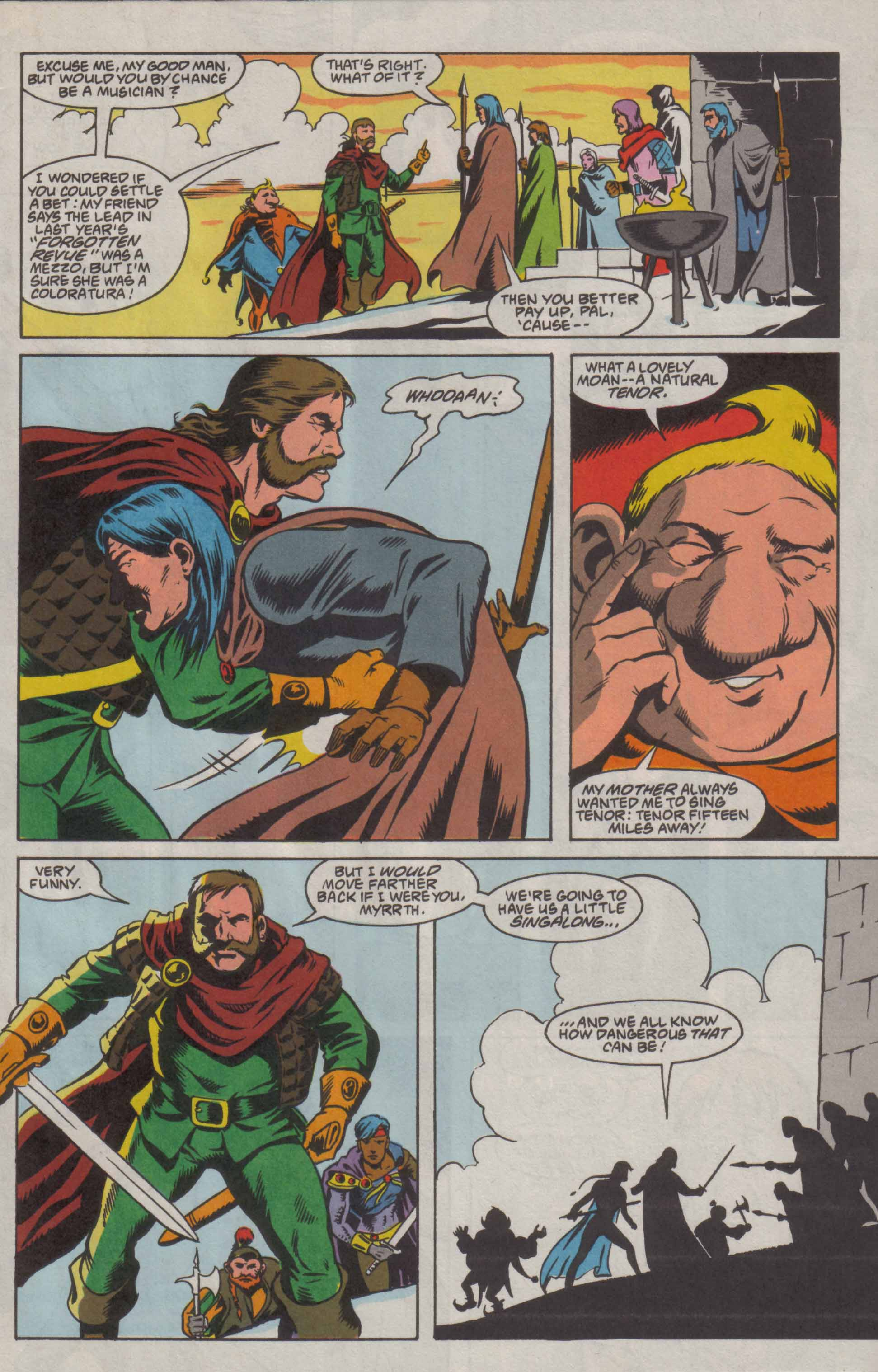 Read online Advanced Dungeons & Dragons comic -  Issue #8 - 8