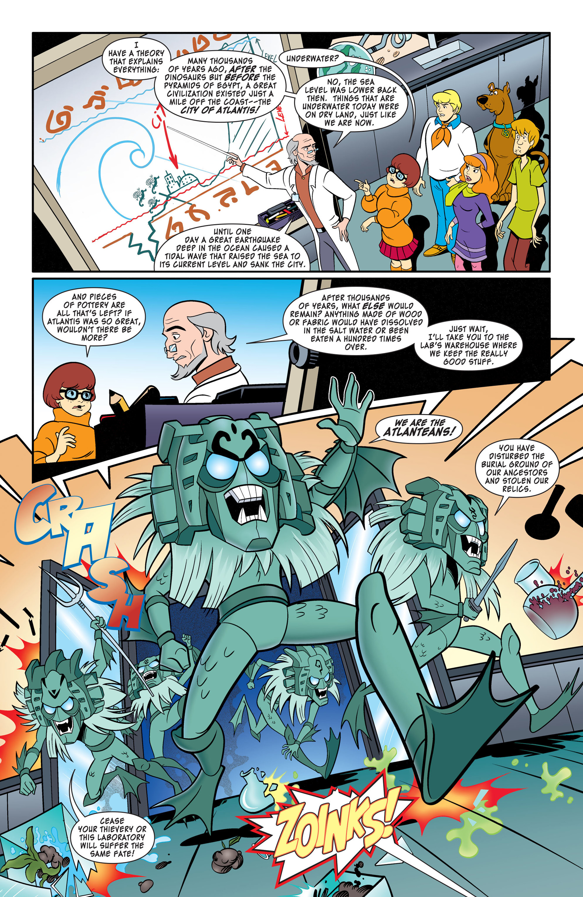 Read online Scooby-Doo: Where Are You? comic -  Issue #46 - 5