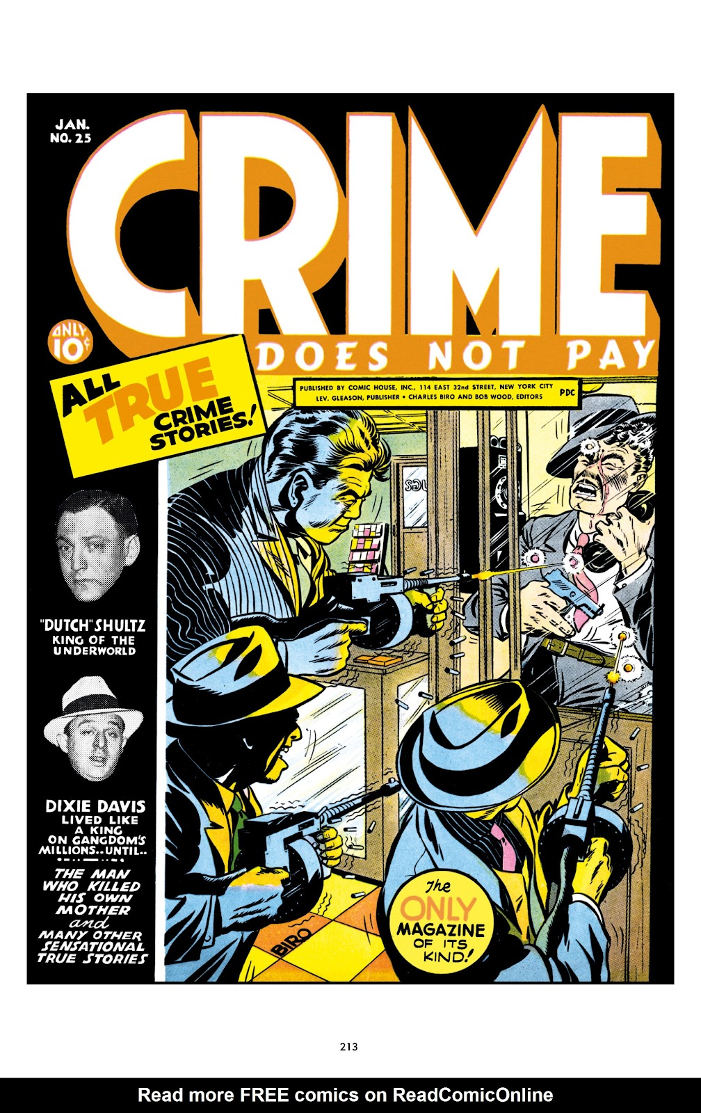 Read online Crime Does Not Pay Archives comic -  Issue # TPB 1 (Part 3) - 16