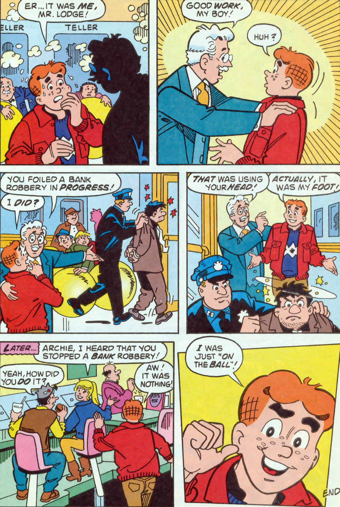Read online Archie (1960) comic -  Issue #469 - 17