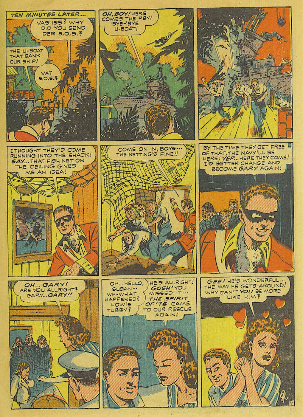 Green Hornet Comics issue 10 - Page 8