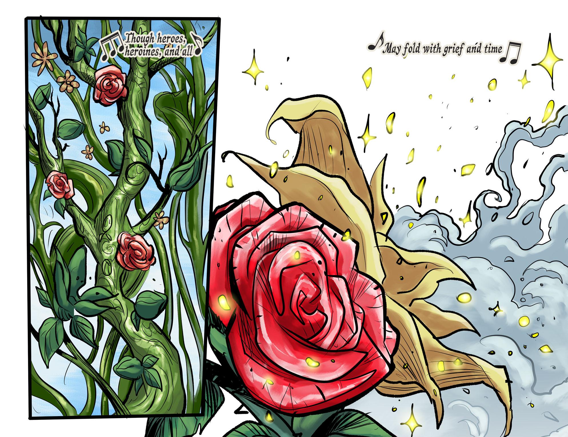 Read online DC Comics: Bombshells comic -  Issue #100 - 8