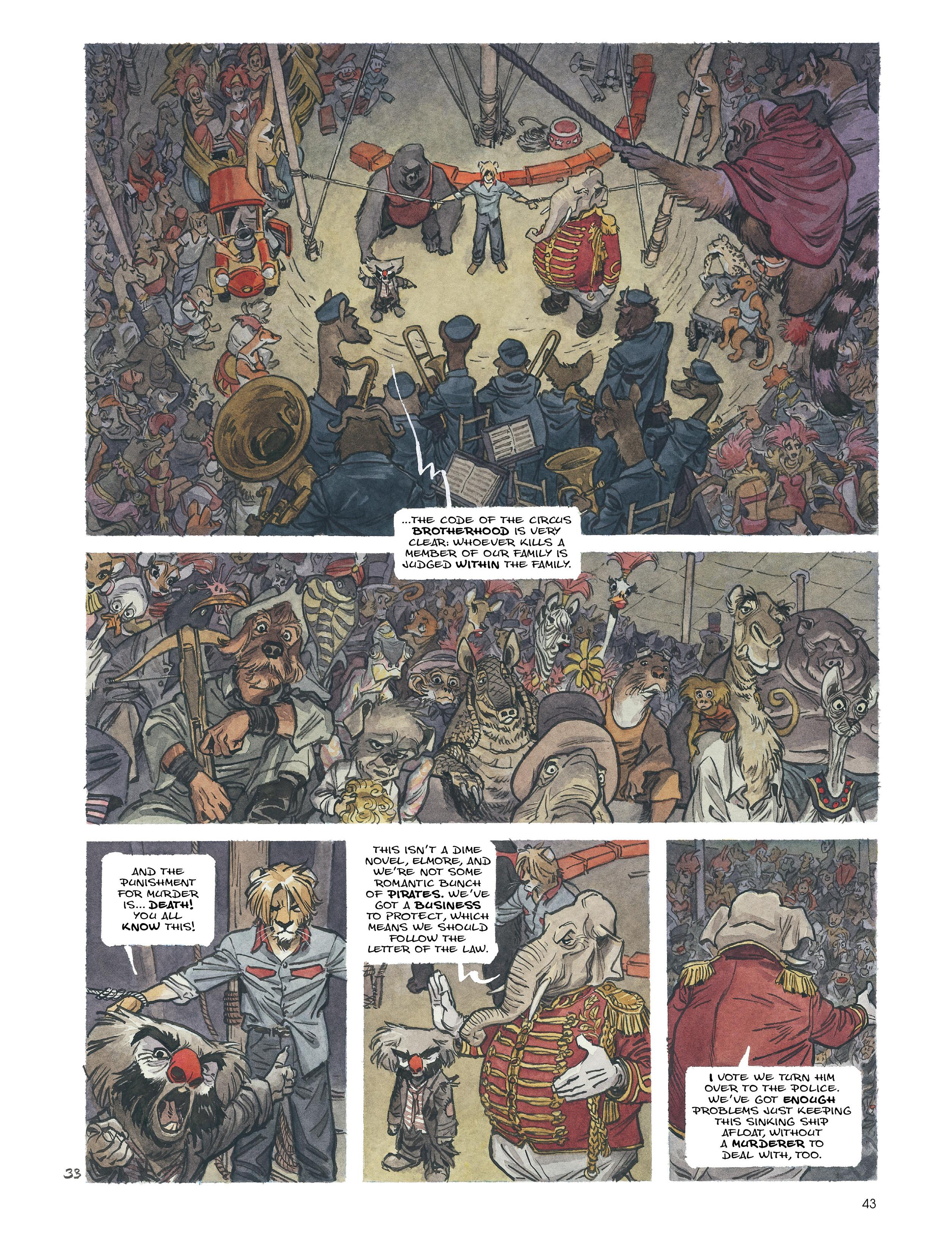 Read online Blacksad: Amarillo comic -  Issue # Full - 42