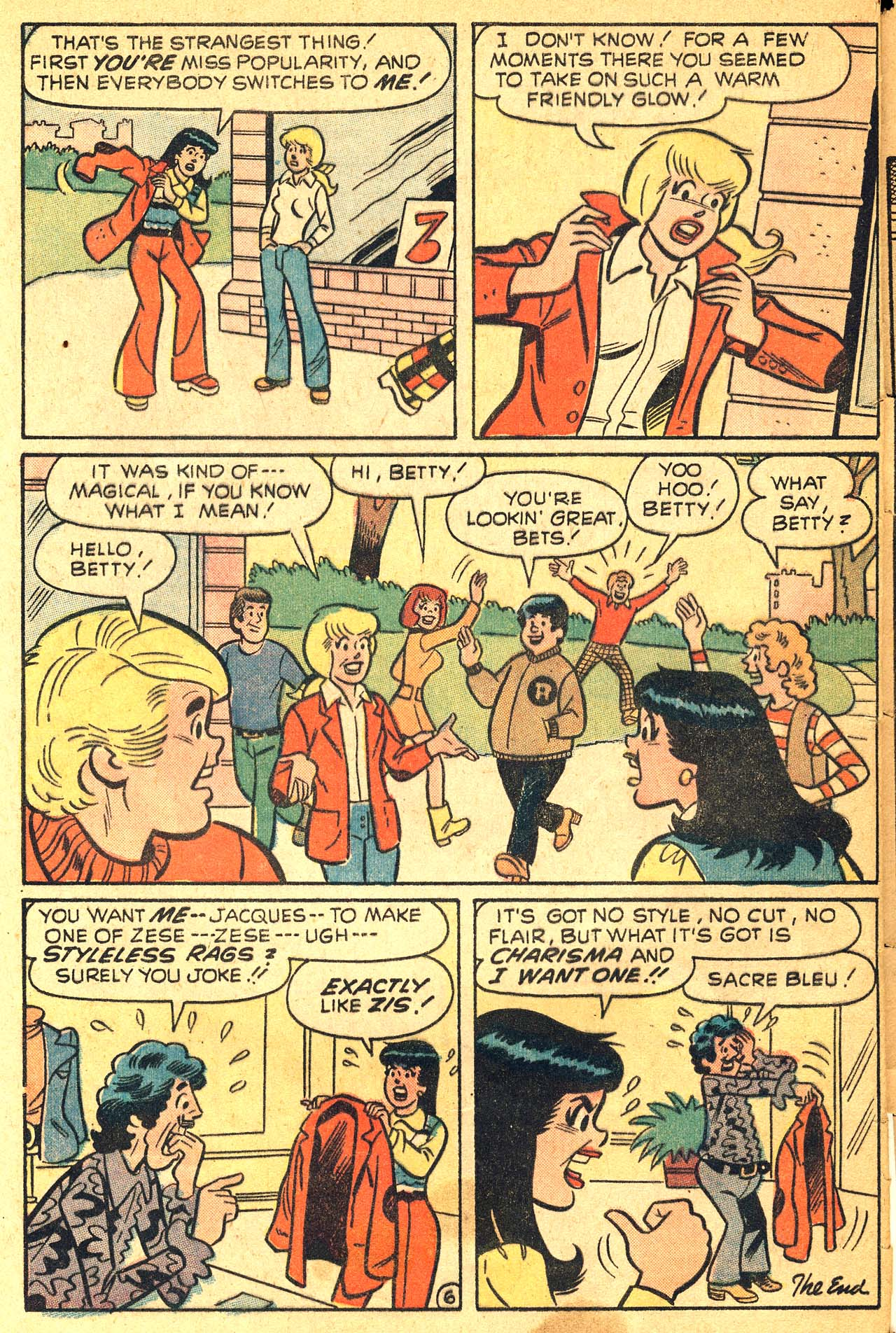 Read online Archie's Girls Betty and Veronica comic -  Issue #210 - 32