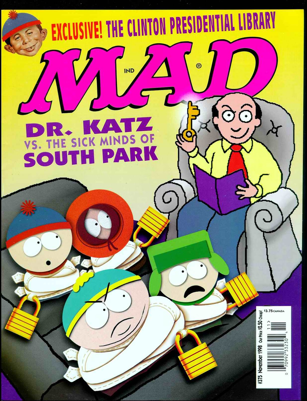 MAD issue 375 - Page 1