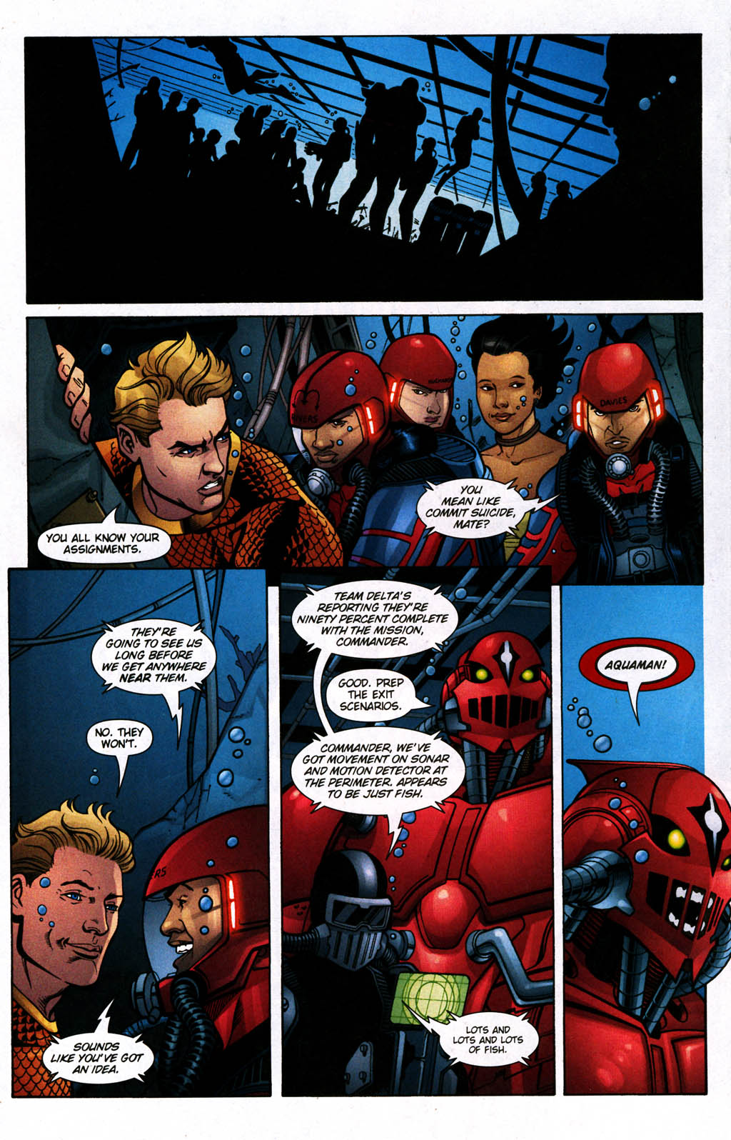 Read online Aquaman (2003) comic -  Issue #24 - 15