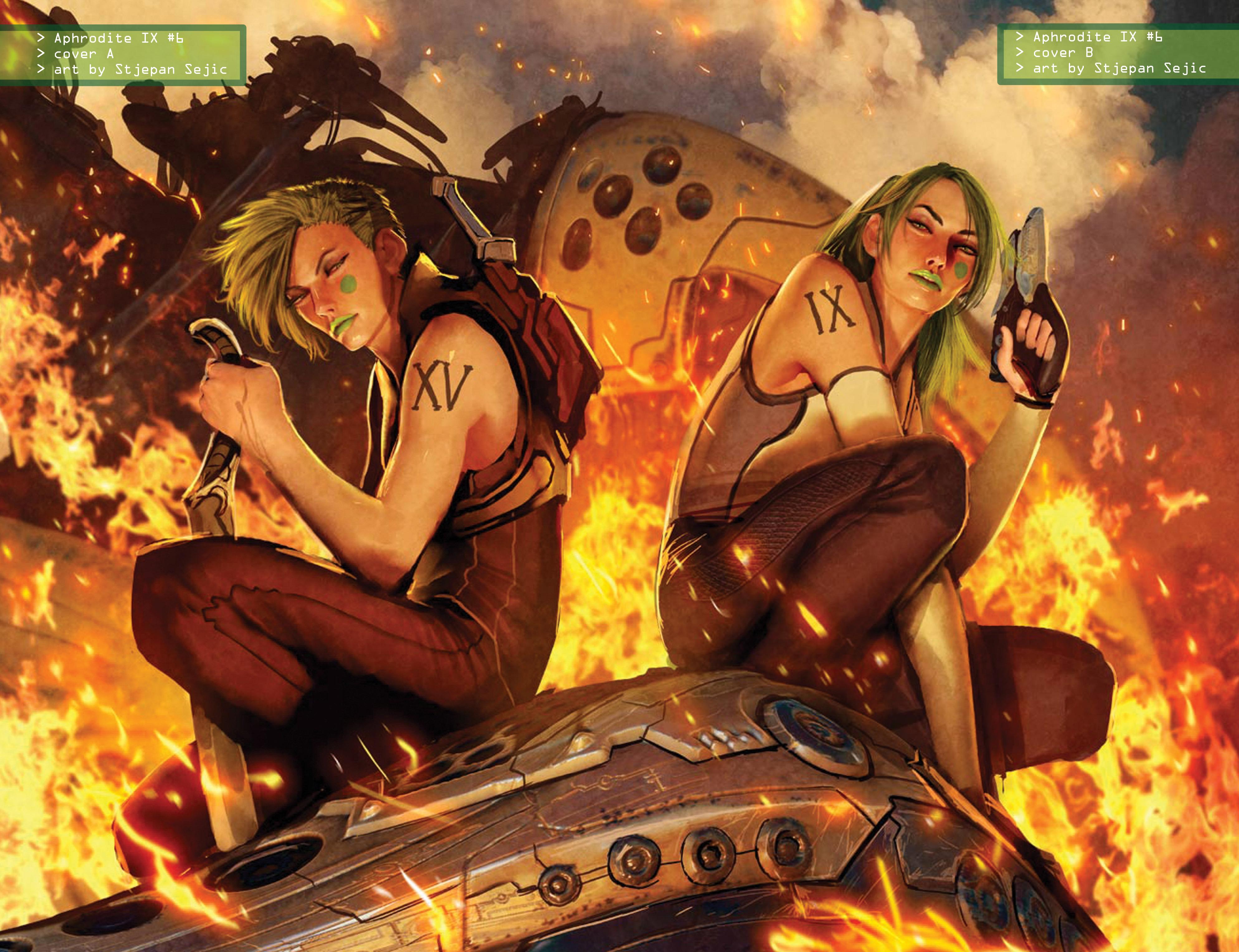 Read online Aphrodite IX (2013) comic -  Issue #Aphrodite IX (2013) _TPB 2 - 141