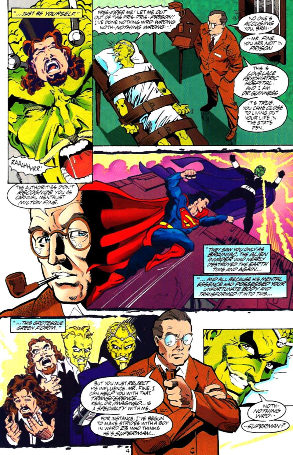 Read online Adventures of Superman (1987) comic -  Issue #536 - 5