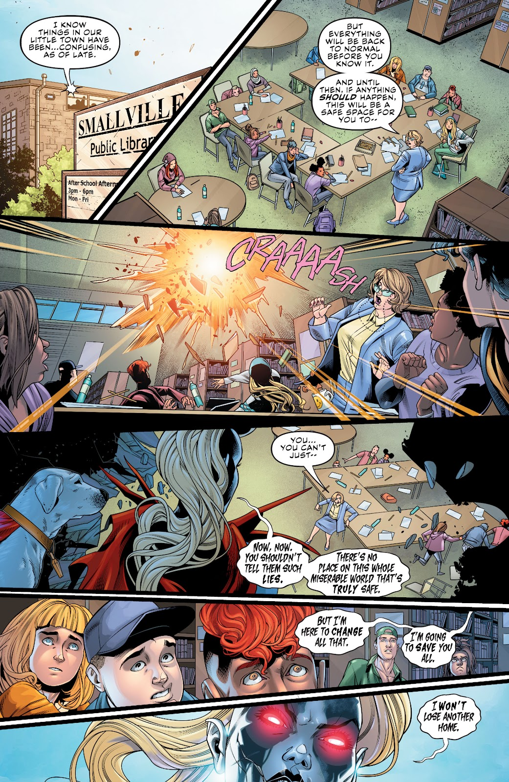 Read online Supergirl (2016) comic -  Issue #38 - 10