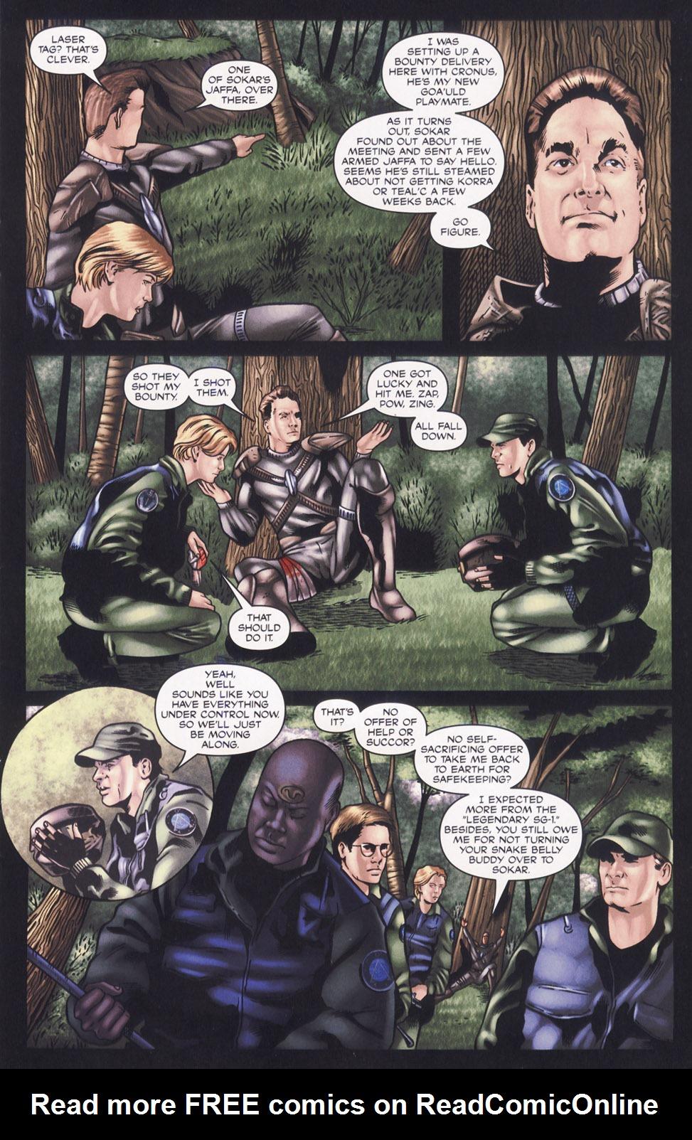 Read online Stargate SG-1: Aris Boch comic -  Issue # Full - 5