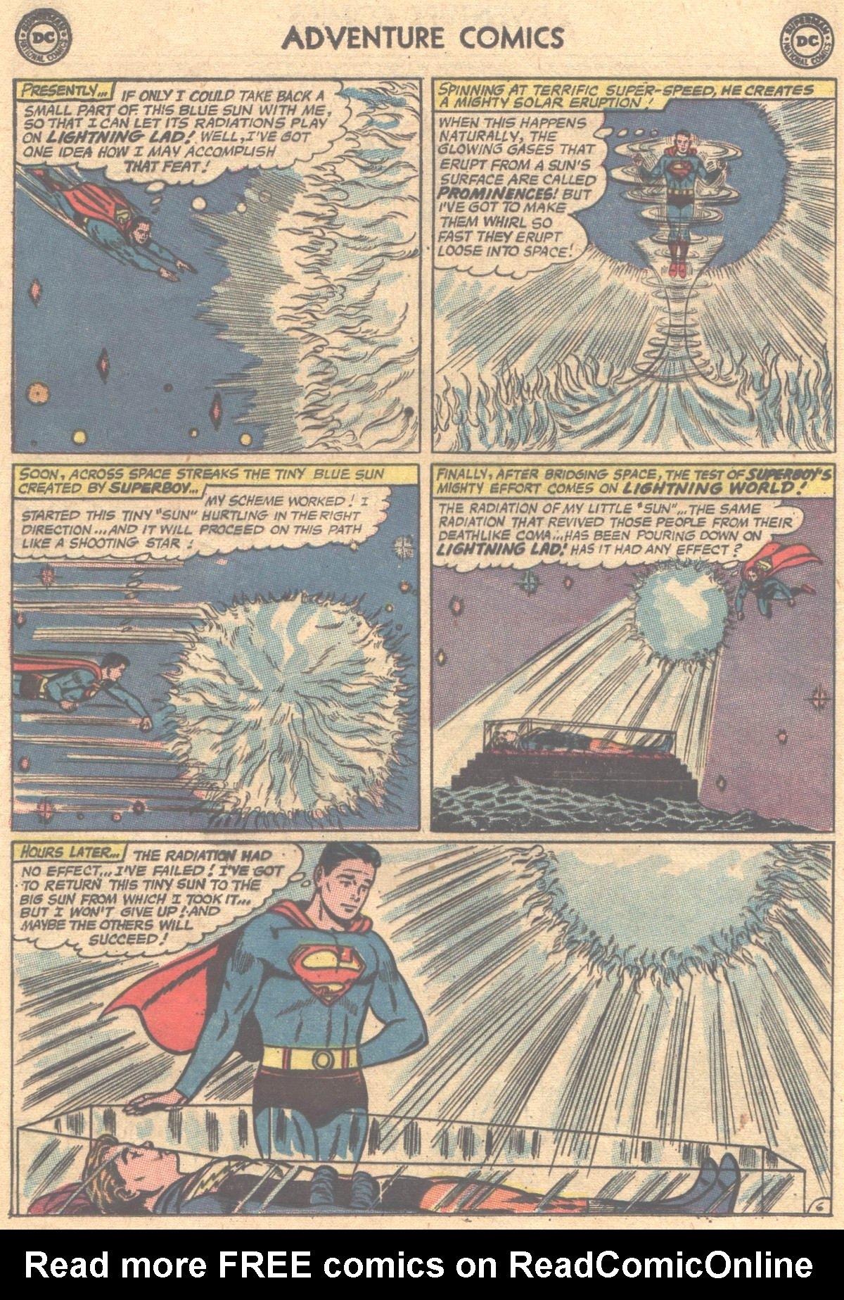 Read online Adventure Comics (1938) comic -  Issue #312 - 8