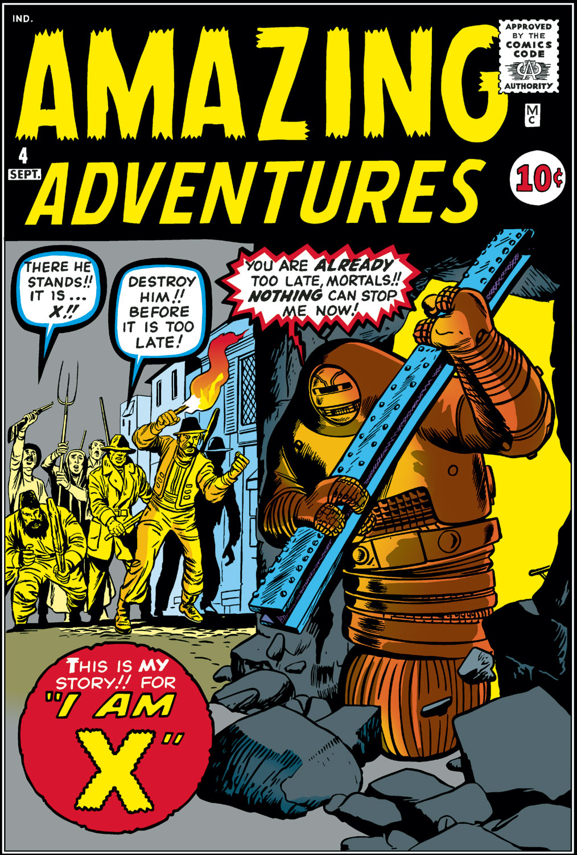 Amazing Adventures (1961) 4 Page 1