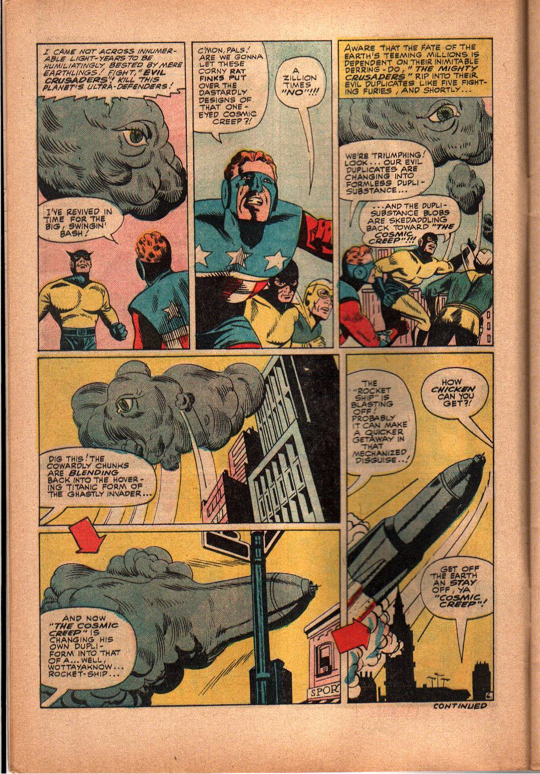 The Mighty Crusaders (1965) Issue #3 #3 - English 7