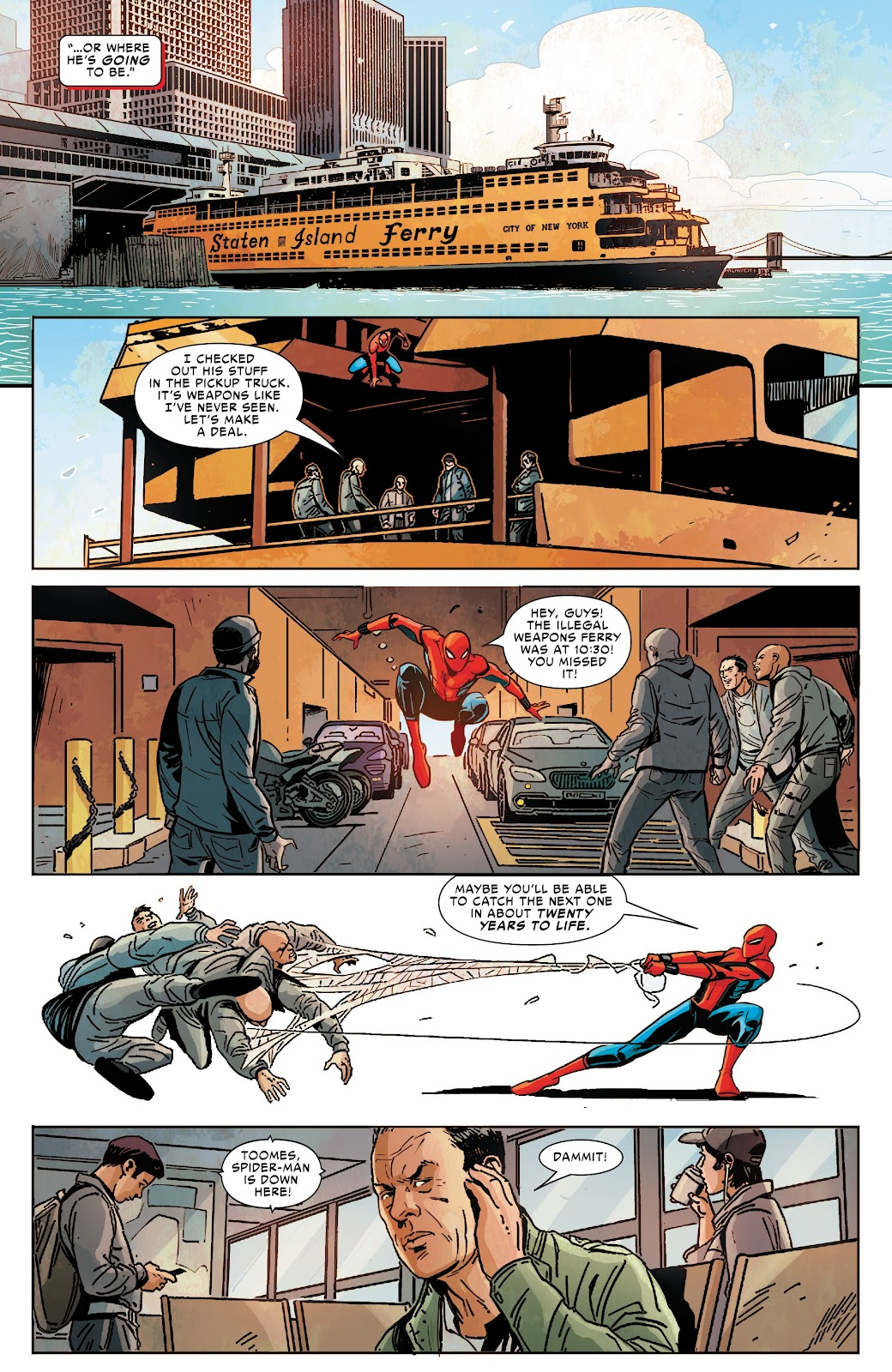 Read online Spider-Man: Far From Home Prelude comic -  Issue #2 - 6
