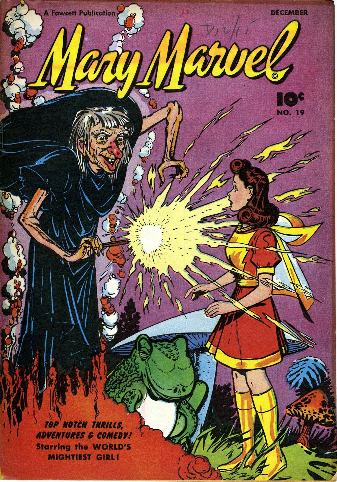 Read online Mary Marvel comic -  Issue #19 - 1