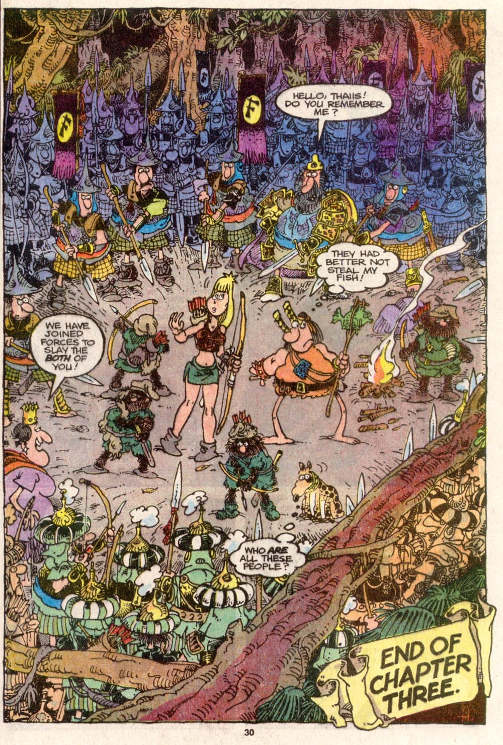 Read online Sergio Aragonés Groo the Wanderer comic -  Issue #82 - 23