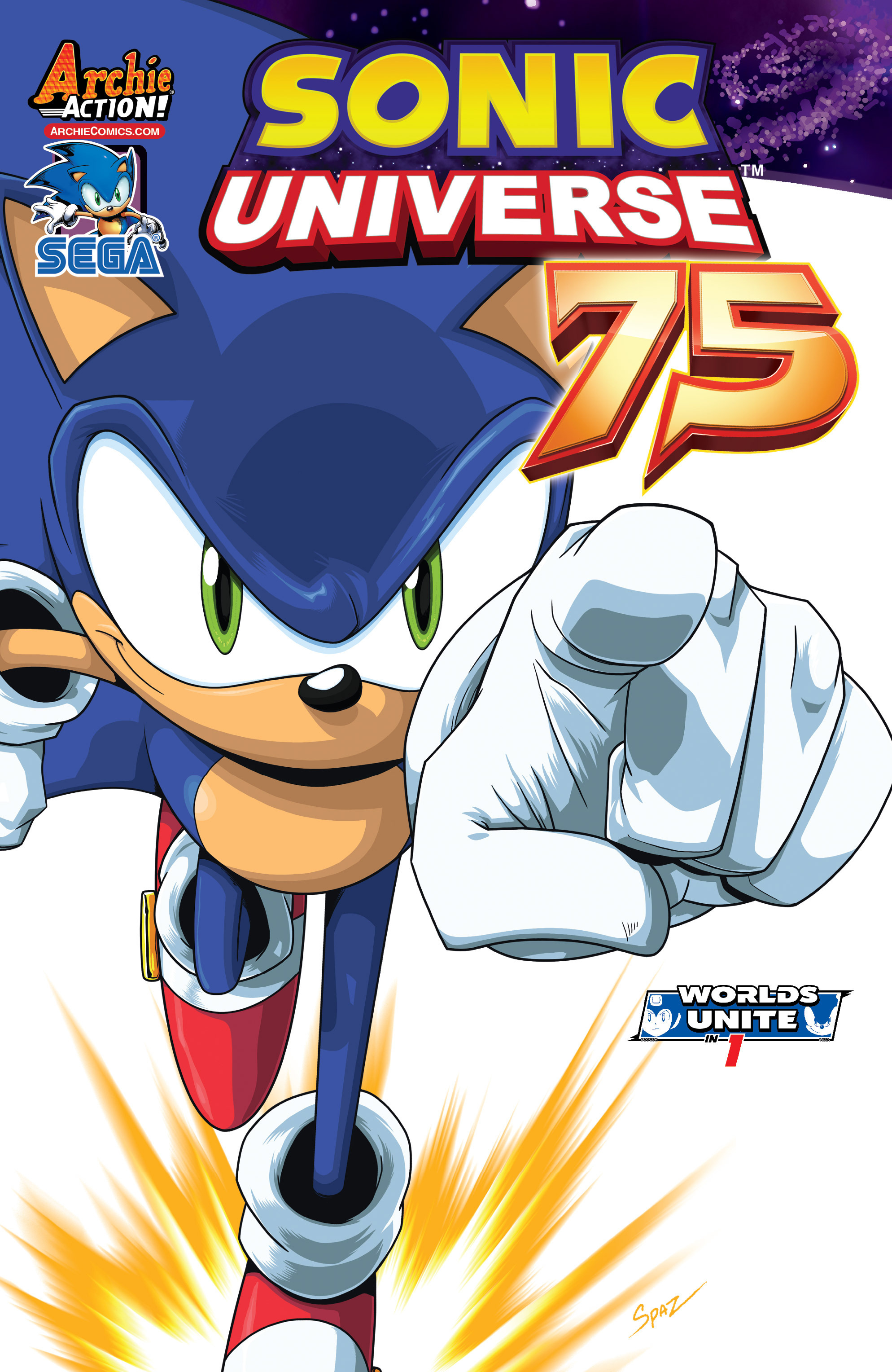 Sonic Universe 75 Page 1