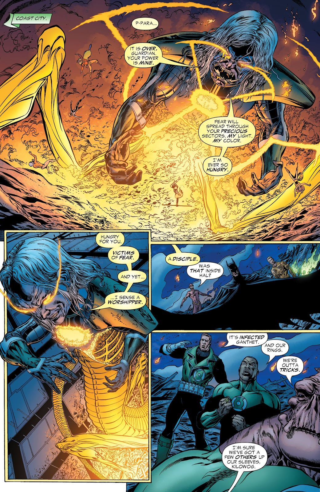 Read online Green Lantern by Geoff Johns comic -  Issue # TPB 1 (Part 2) - 30