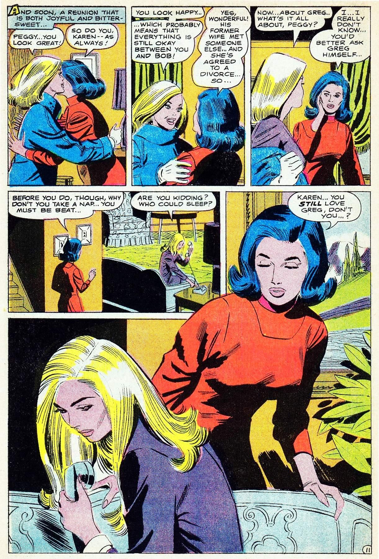 Read online Secret Hearts comic -  Issue #133 - 30