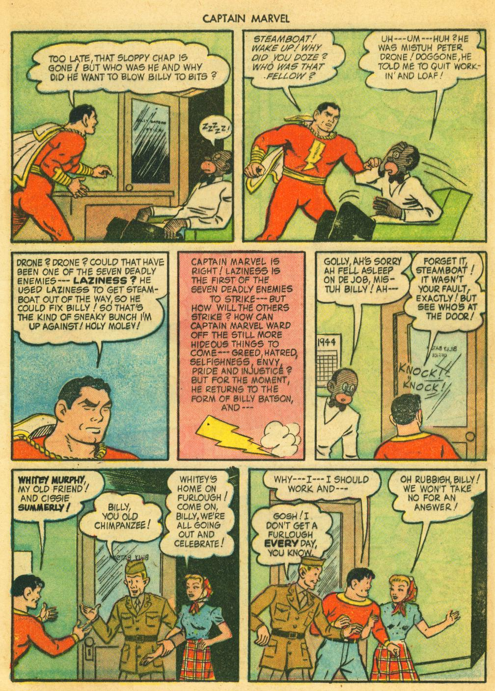 Captain Marvel Adventures issue 41 - Page 9