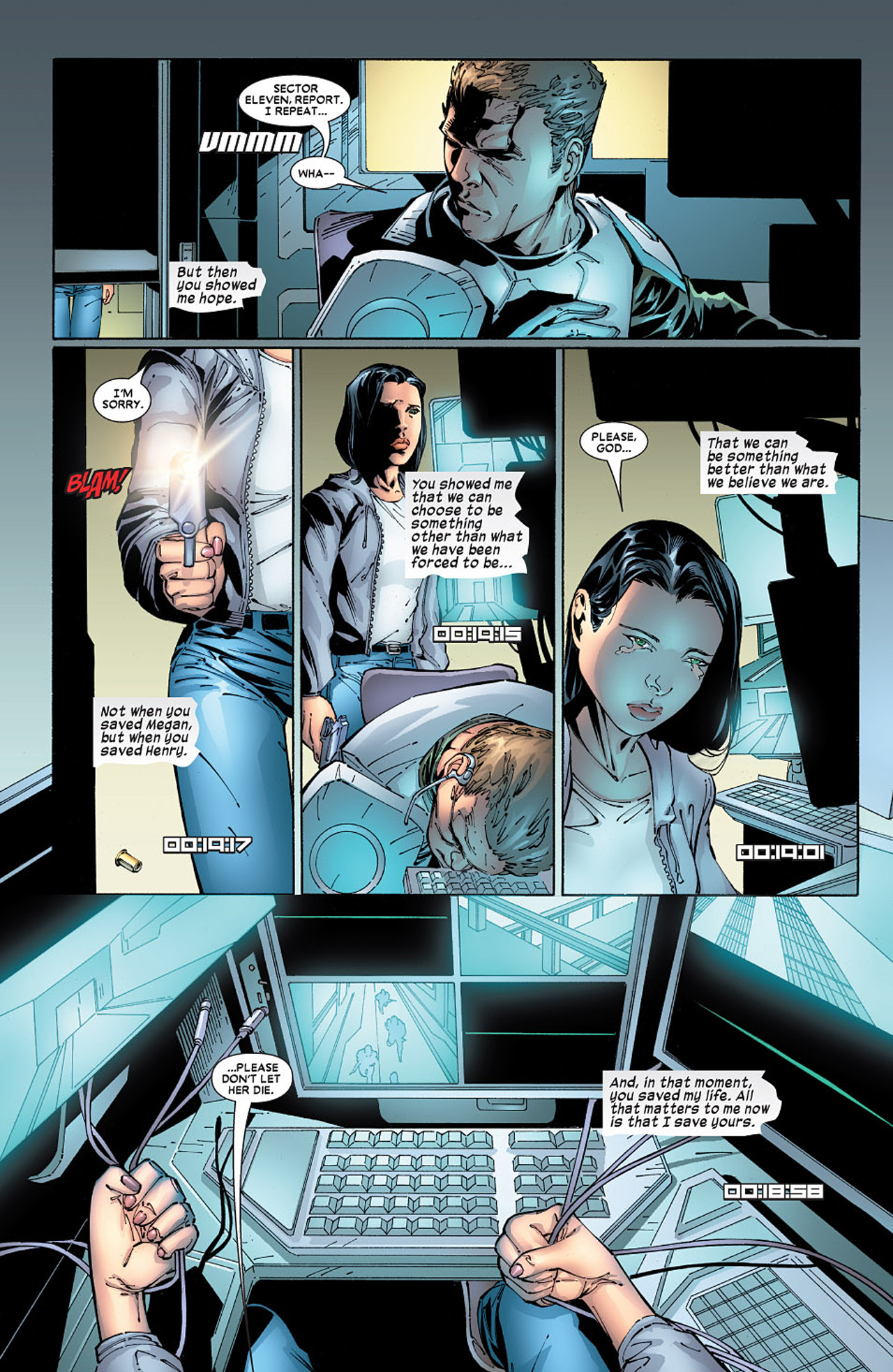 Read online X-23 (2005) comic -  Issue #6 - 3