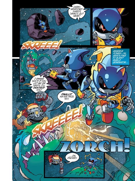 Read online Sonic Comics Spectacular: Speed of Sound comic -  Issue # Full - 139