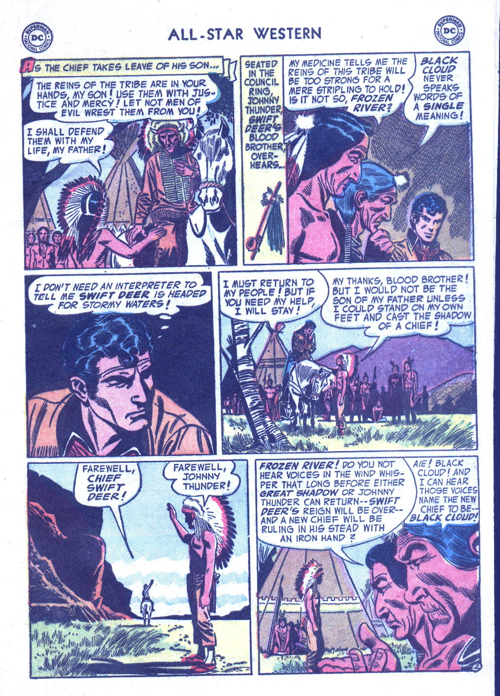 Read online All-Star Western (1951) comic -  Issue #77 - 29