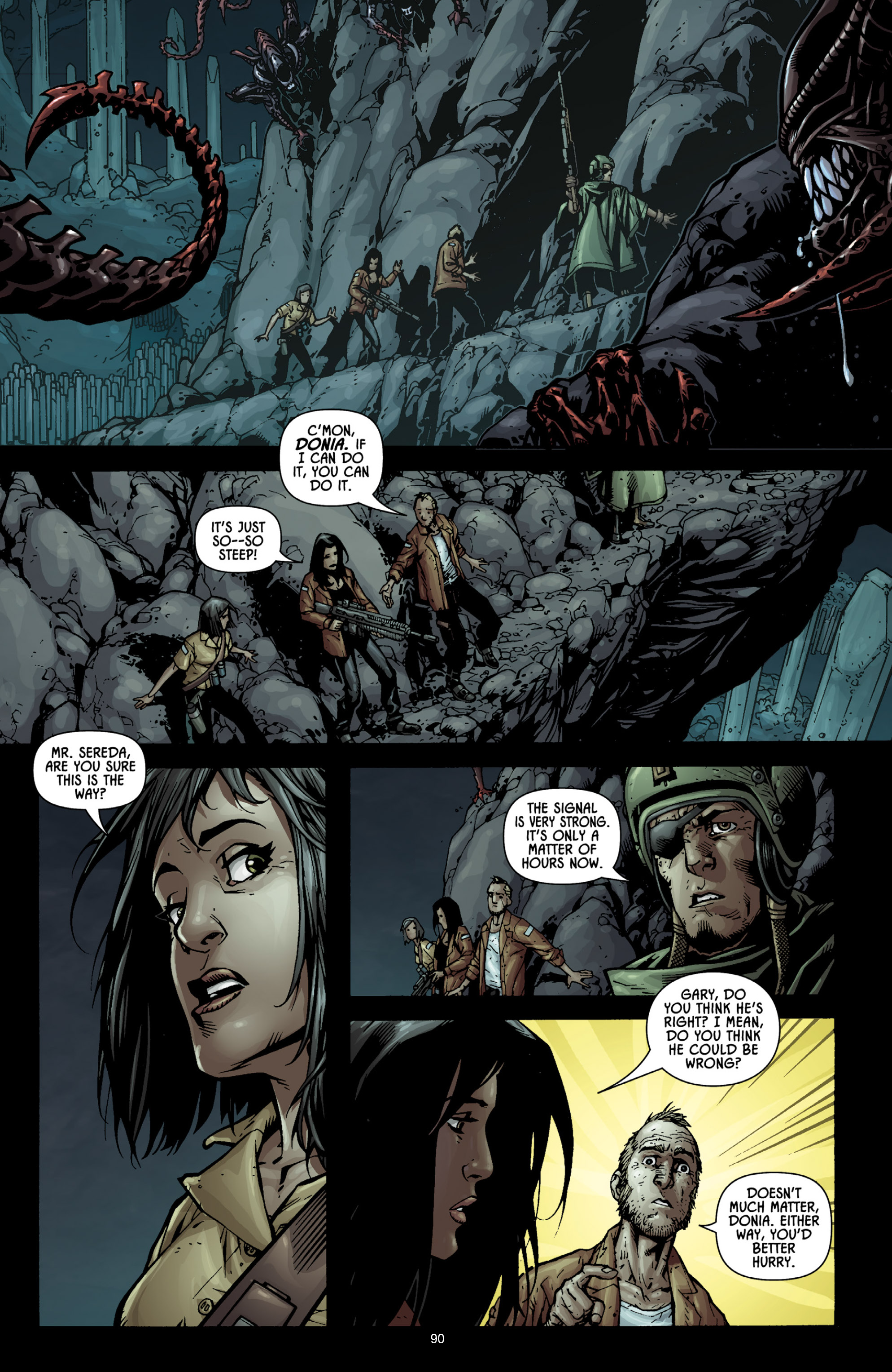 Read online Aliens (2009) comic -  Issue # TPB - 85