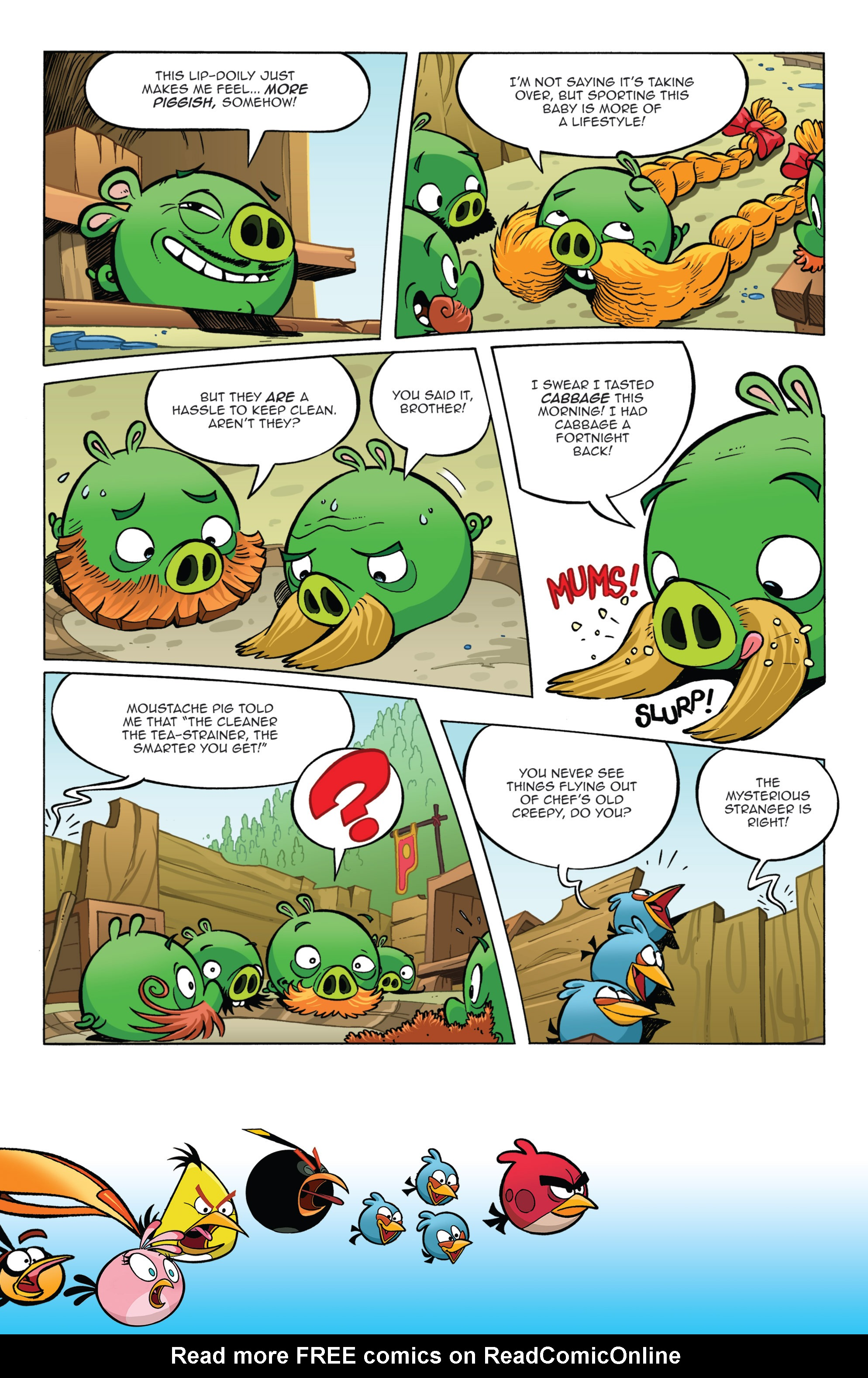 Read online Angry Birds Comics (2014) comic -  Issue #11 - 8