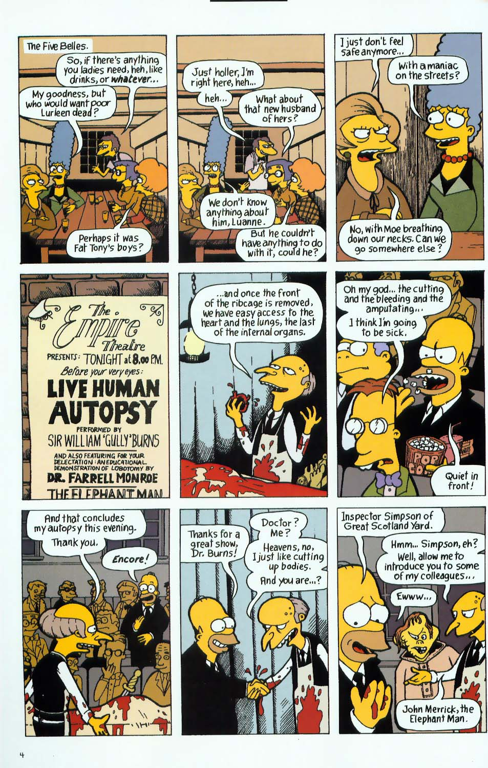 Read online Treehouse of Horror comic -  Issue #9 - 36