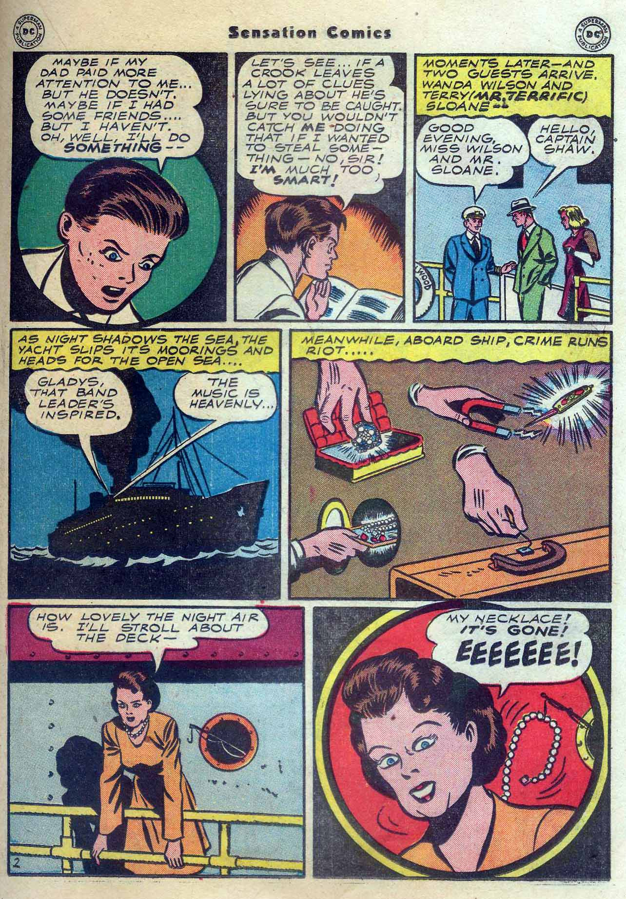 Read online Sensation (Mystery) Comics comic -  Issue #56 - 33
