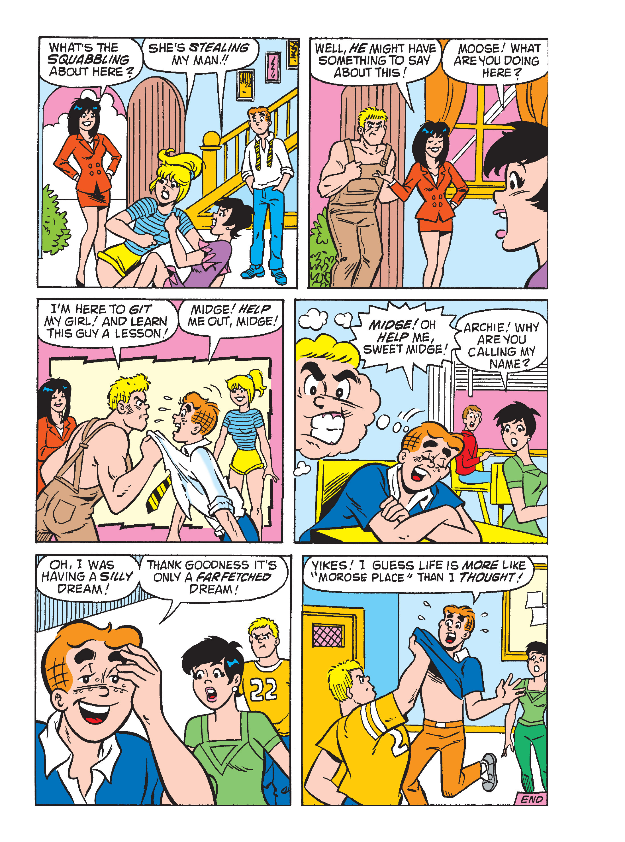 Read online Archie's Funhouse Double Digest comic -  Issue #15 - 171