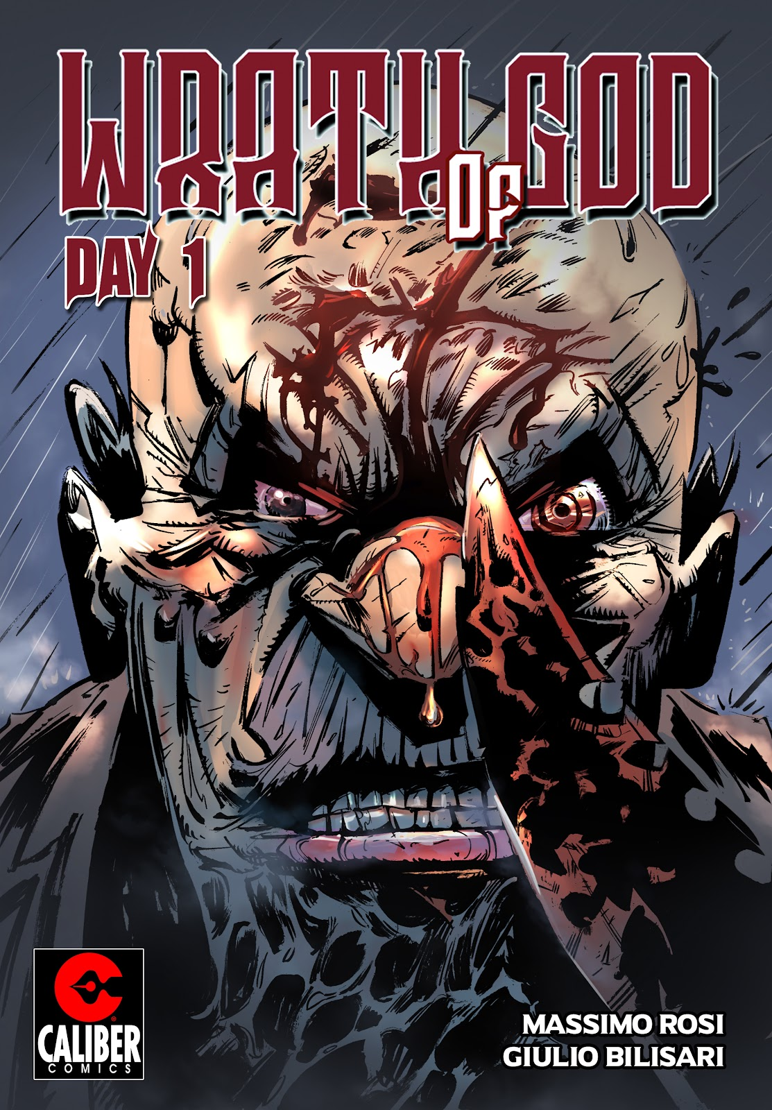 Read online Wrath of God comic -  Issue #1 - 1