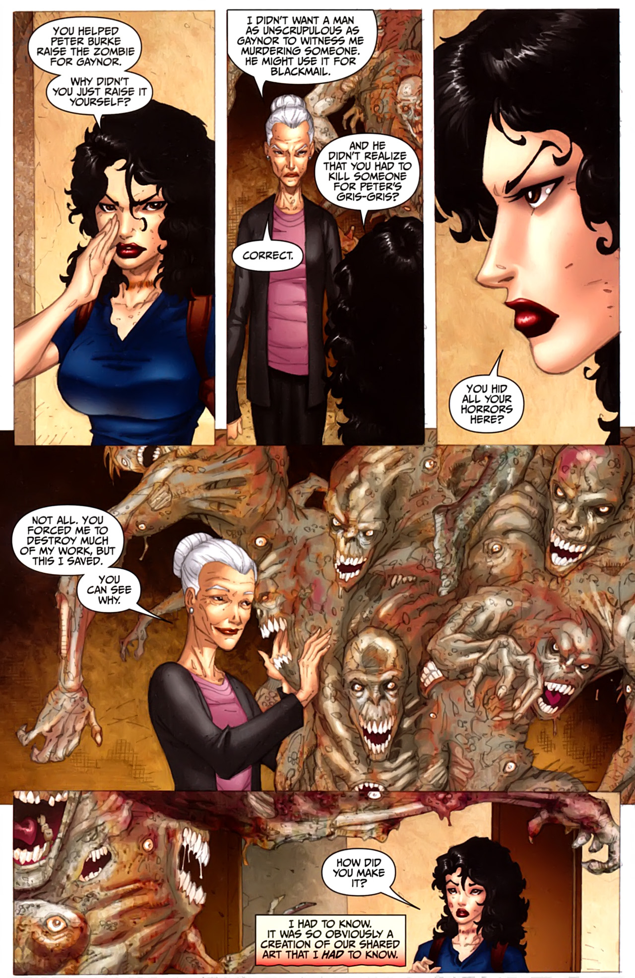 Read online Anita Blake: The Laughing Corpse - Executioner comic -  Issue #3 - 15